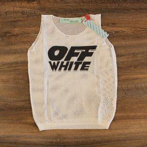 Off-White Women Summer Transparent Tank Top